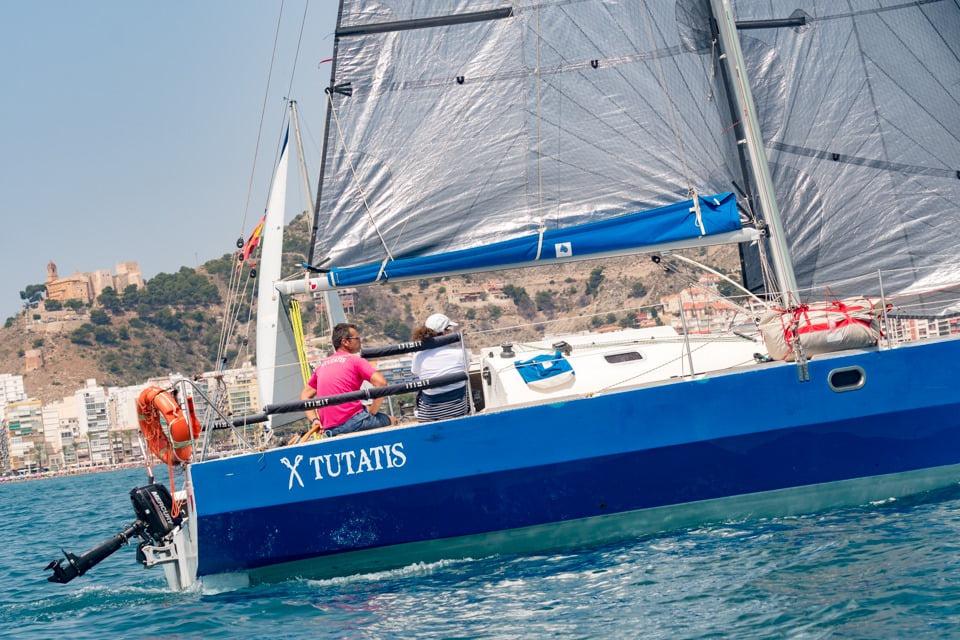El X-Tutatis de Gandia vence en la regata de Cullera marcada por el fuerte viento
